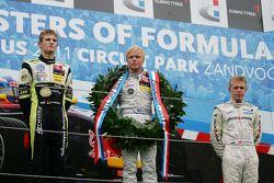 Winner Felix Rosenqvist, Mucke Motorsport, Dallara F308 Mercedes, second place Marco Wittmann, Signa