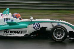 Jazeman Jaafar, Carlin, Dallara F308 Volkswagen