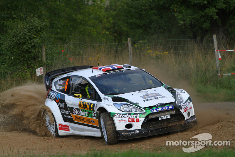 2011: Mads Ostberg y Jonas Andersson, M-Sport Stobart Ford World Rally Team, Ford Fiesta RS WRC