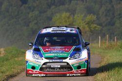 Jari-Matti Latvala et Miikka Anttila, Ford Fiesta RS WRC, BP Ford Abu Dhabi World Rally Team