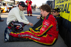 Alex Tagliani, Penske Racing Dodge with Owen Kelly, Petty Motorsport Ford and Boris Said, Chevrolet