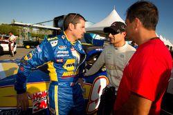 Patrick Carpentier, Pastrana Waltrip Racing Toyota en Alex Tagliani, Penske Racing Dodge