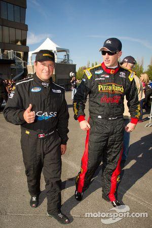 Jean-François Dumoulin, Chevrolet and Michael McDowell, Joe Gibbs Racing Toyota