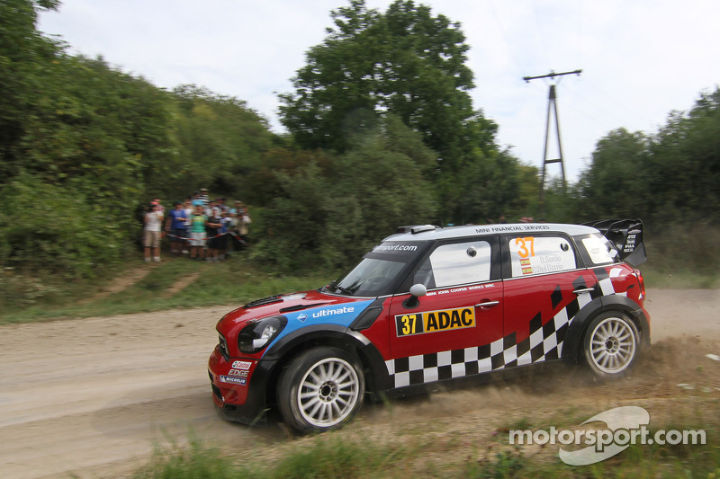 2011: Daniel Sordo y Carlos del Barrio, Mini John Cooper Works, MINI WRC TEAM