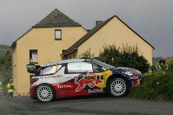 Sébastien Ogier en Julien Ingrassia, Citroën DS3 WRC, Citroën Total World Rally Team