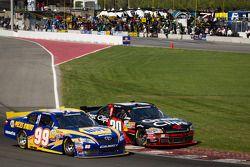 Patrick Carpentier, Pastrana Waltrip Racing Toyota en Boris Said, Chevrolet battle