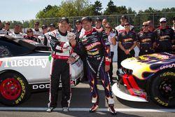 Penske Racing: ganador de la pole Jacques Villeneuve, Penske Racing Dodge y el segundo Alex Tagliani