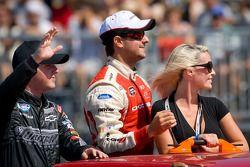 Justin Allgaier, Tuner Motorsport Chevrolet and Andrew Ranger, Dodge