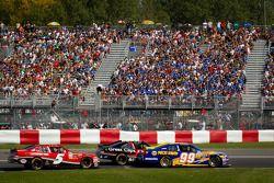 Patrick Carpentier, Pastrana Waltrip Racing Toyota, Boris Said, Chevrolet, Ron Fellows, Hendrick Mot