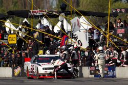 Pit stop de Jacques Villeneuve, Penske Racing Dodge