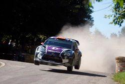 Peter van Merksteijn and Erwin Mombaerts, CITROEN DS3 WRC