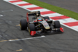 Jan Charouz Lotus Renault F1 Display