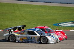 Start: #10 SunTrust Racing Chevrolet Dallara: Max Angelelli, Ricky Taylor en #99 GAINSCO/Bob Stallin