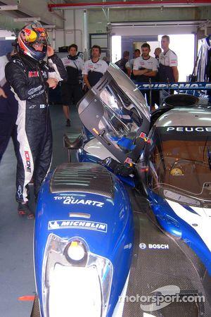 Kimi Raikkonen test de Peugeot 908