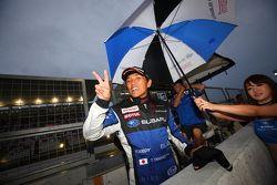 GT300 winner Tetsuya Yamano