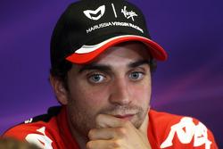 basın toplantısı: Jerome d'Ambrosio, Virgin Racing