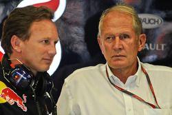 Christian Horner, Red Bull Racing, Director deportivo y Helmut Marko
