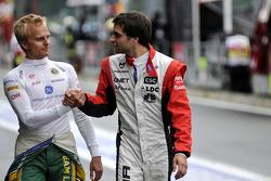 Heikki Kovalainen, Team Lotus ve Jerome d'Ambrosio, Virgin Racing