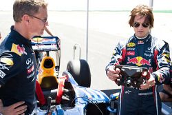 David Coulthard and Tom Cruise