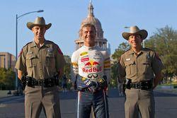 David Coulthard in Austin