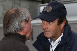 Jacques Laffite and Nigel Mansell