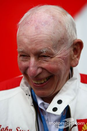 John Surtees, former F1 and Motorcycle world champion