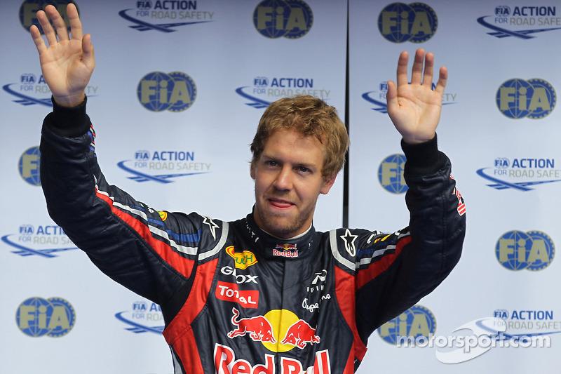 Pole: Kazanan Sebastian Vettel, Red Bull Racing
