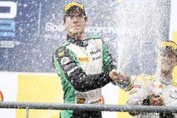 Christian Vietoris fête sa victoire sur le podium