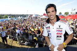 Тони Элиас, LCR Honda MotoGP на автограф сессии