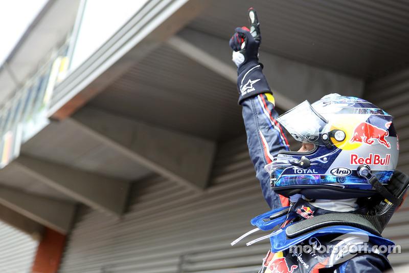 2011 - جائزة بلجيكا الكبرى: سيباستيان فيتيل، ريد بُل