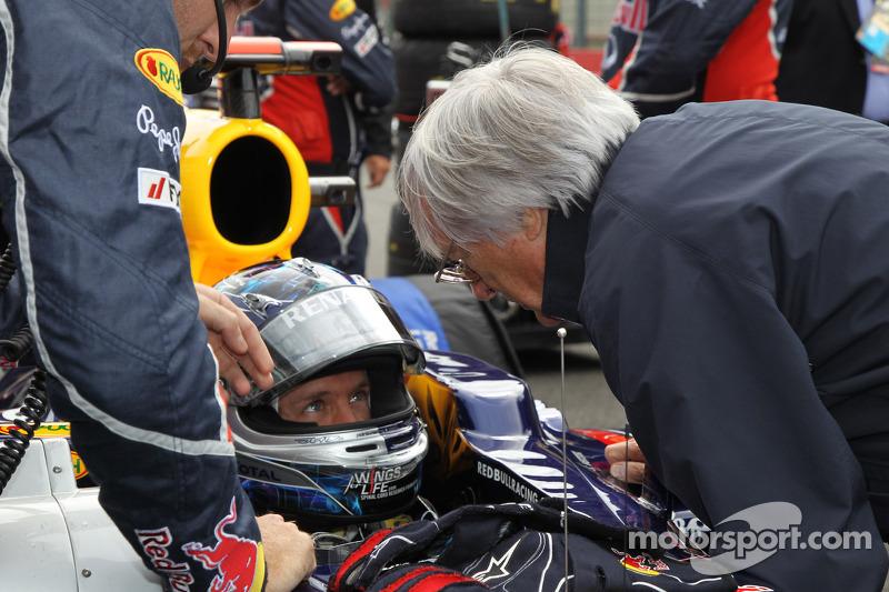 Sebastian Vettel, Red Bull Racing ve Bernie Ecclestone