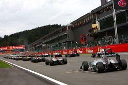 Iniico: Michael Schumacher, Mercedes GP