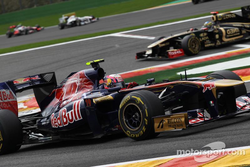 Daniel Ricciardo Test Pilotu, Scuderia Toro Rosso