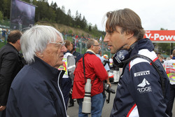 Adam Parr, Williams F1 Team and Bernie Ecclestone