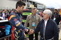 Jaime Alguersuari, Scuderia Toro Rosso y Bernie Ecclestone