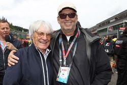 Bernie Ecclestone met Eric Clapton