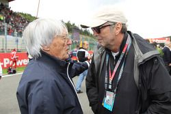 Bernie Ecclestone con Eric Clapton