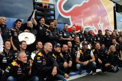 Christian Horner, Red Bull Racing, Sporting Director, Adrian Newey, Red Bull Racing, Technical Opera