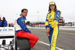 Vitor Meira, A.J. Foyt Enterprises en Ana Beatriz, Dreyer & Reinbold Racing