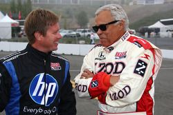 Davey Hamilton and Don Prudhomme