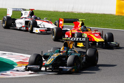 Esteban Gutierrez leads Christian Vietoris and Fabio Leimer