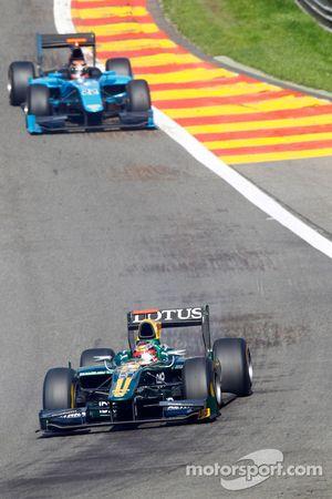 Jules Bianchi y Brendon Hartley