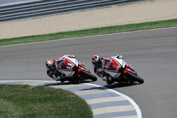 Jorge Lorenzo, Yamaha Factory Racing and Ben Spies, Yamaha Factory Racing