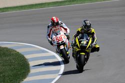 Colin Edwards, Monster Yamaha Tech 3 y Marco Simoncelli, San Carlo Honda Gresini