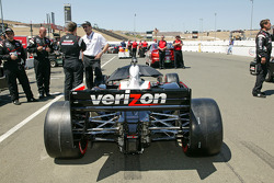 Pole winning car of Will Power, Team Penske