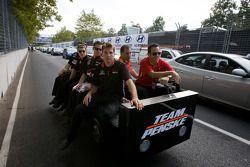 Will Power, Team Penske en Ryan Briscoe, Team Penske
