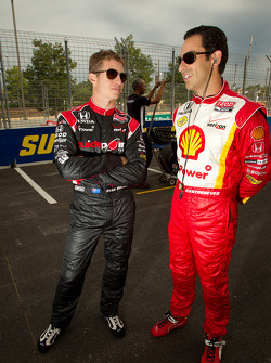 Ryan Briscoe, Team Penske & Helio Castroneves, Team Penske