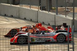 #12 Autocon Lola B06/10 AER: Tony Burgess, Chris McMurry et #89 Intersport Racing Oreca FLM09: Chapman Ducote, David Ducote