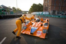 #12 Autocon Lola B06/10 AER: Tony Burgess, Chris McMurry spins