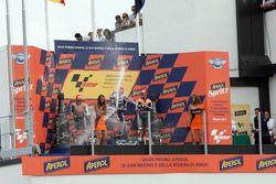 Celebración de podio